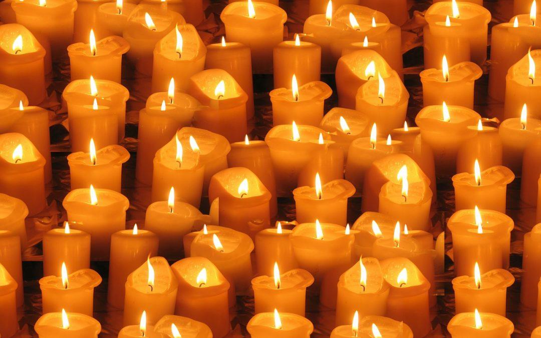 As velas falam e escutam seus pedidos