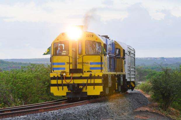 O trem parado – Mensagem do dia