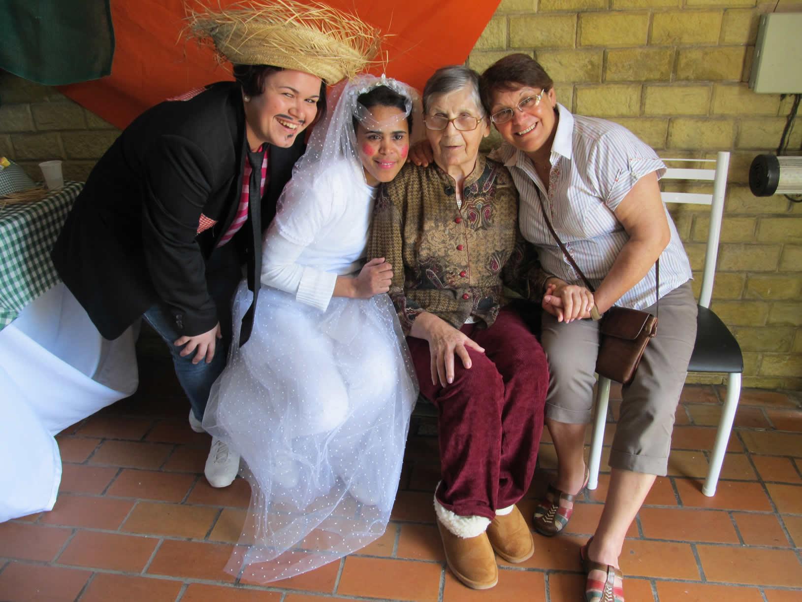 O Lar Alcina é um residencial para idosos em SP