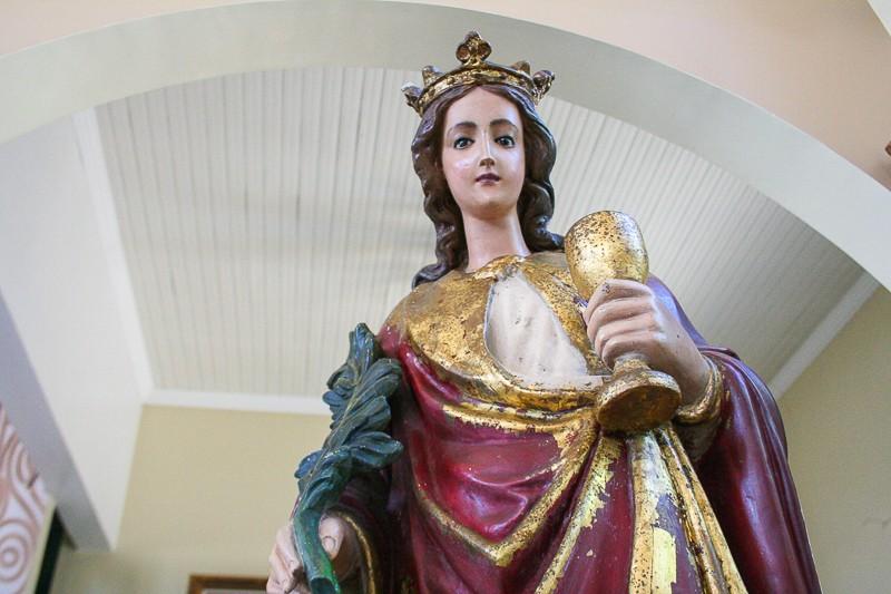 Santa Bárbara Iansã rainha dos Raios
