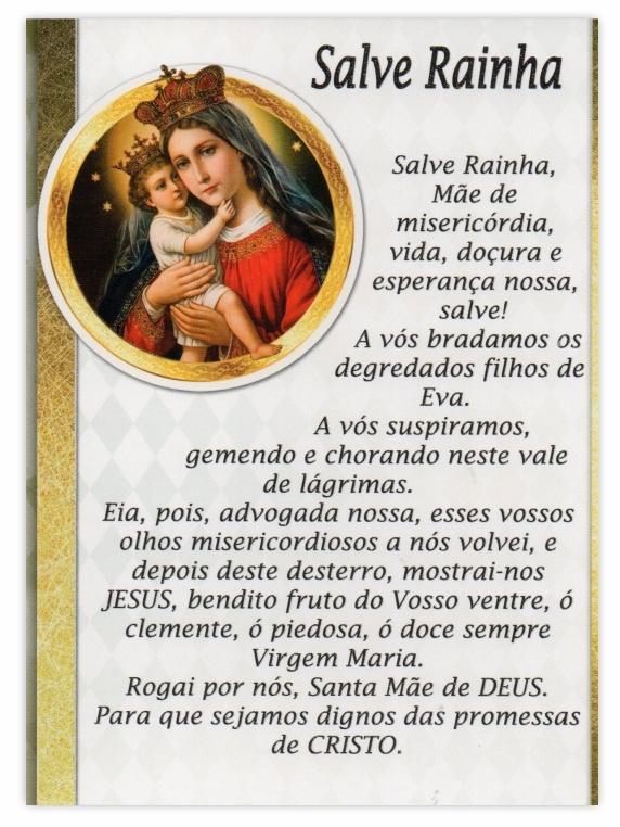 Ritual de fé com Salve Rainha